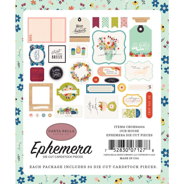 Carta Bella - Our House - Ephemera Pack