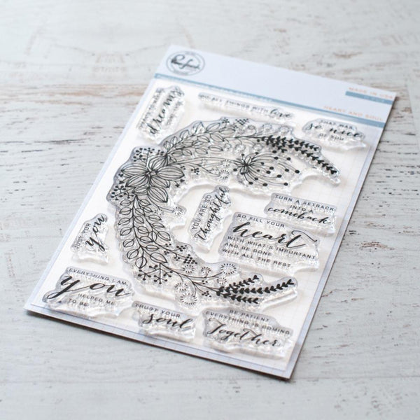 Pinkfresh Studio - Heart and Soul stamp set