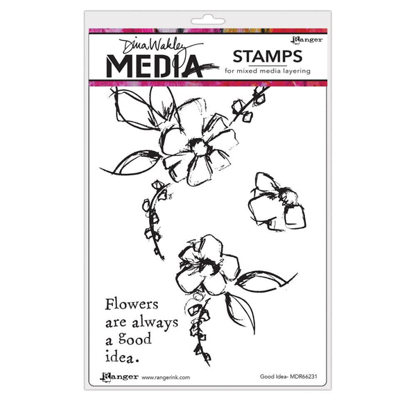 Dina Wakley Media - Good Idea Stamp Set