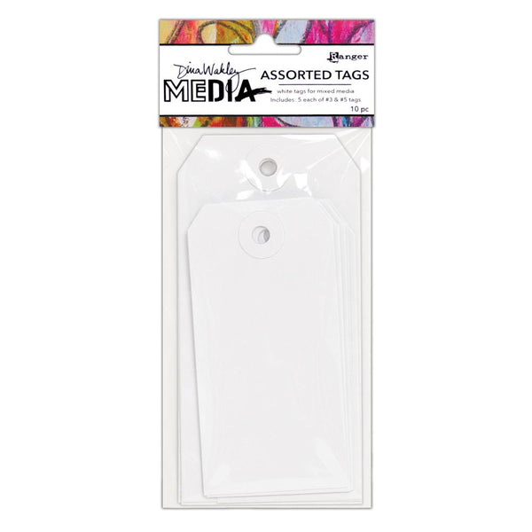 Dina Wakley - Assorted Tags - #3 & #5 Tags