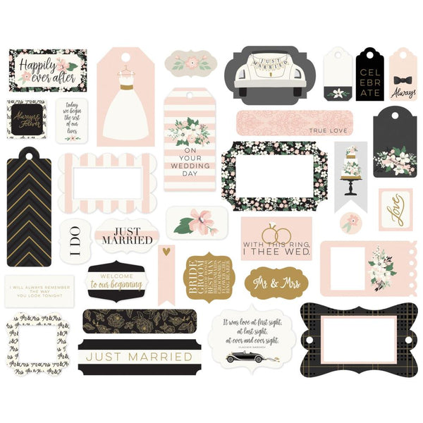 Echo Park - Wedding Day - Frames & Tags