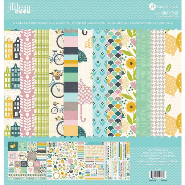 Jillibean Soup - Spoonful of Soul -  12 x 12 Collection Pack