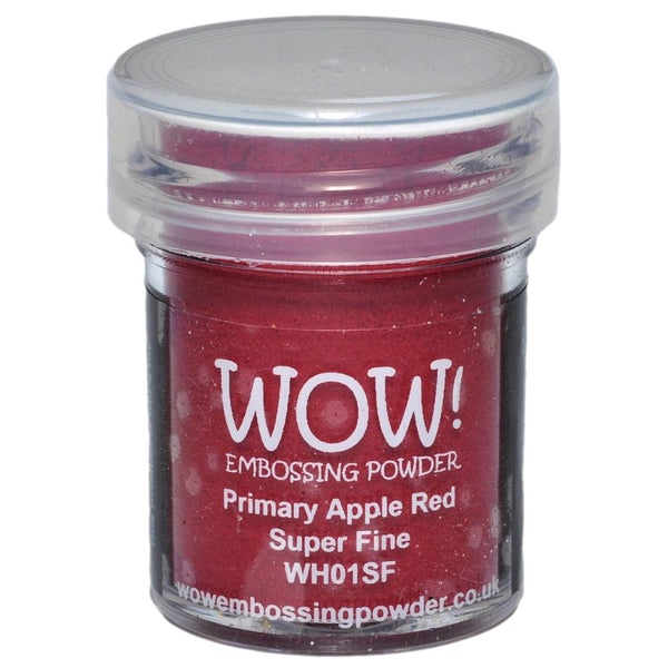 Wow! - Embossing Powder - Super Fine Primary Apple Red