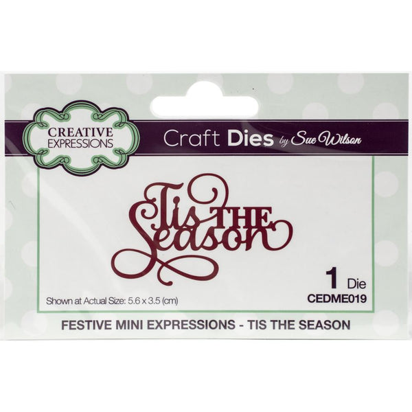 Creative Expressions - Craft Dies By Sue Wilson - Tis The Season