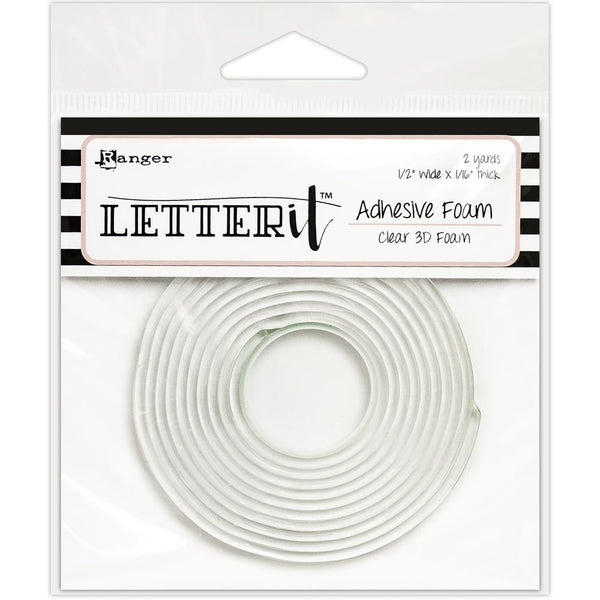 Ranger - Letter It - Clear 3D Foam Adhesive