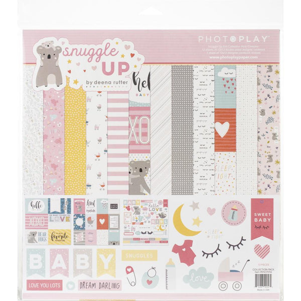 Photoplay Paper - Snuggle Up - Girl Collection Kit