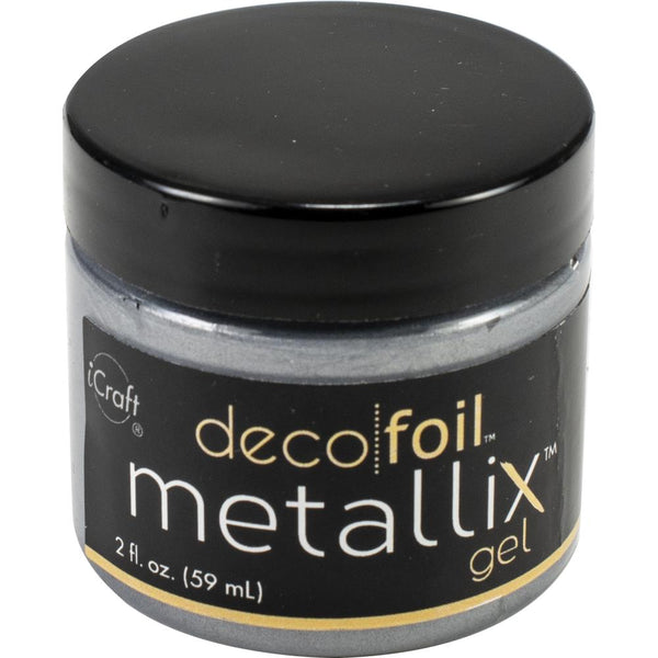 Deco Foil - Metallix Gel - Glazed Pewter