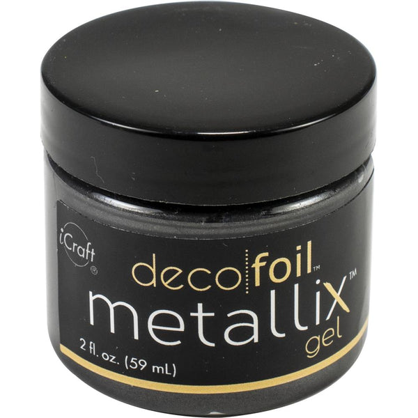 Deco Foil - Metallix Gel - Black Ice