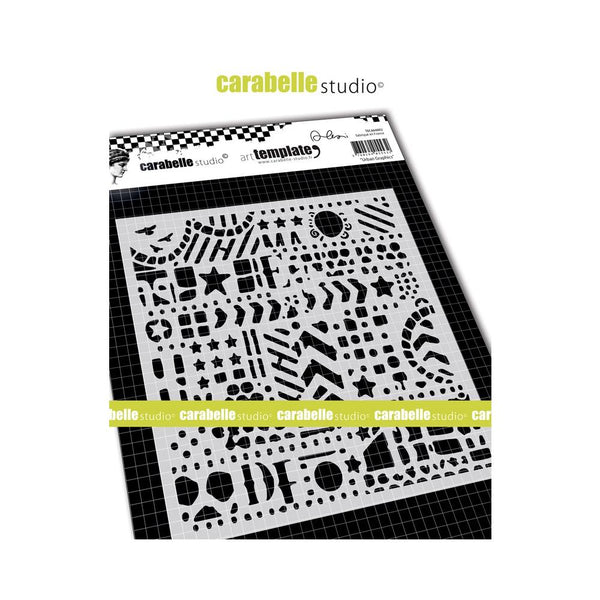 Carabelle Studio - Art Template - 6 x 6  Urban Graphics