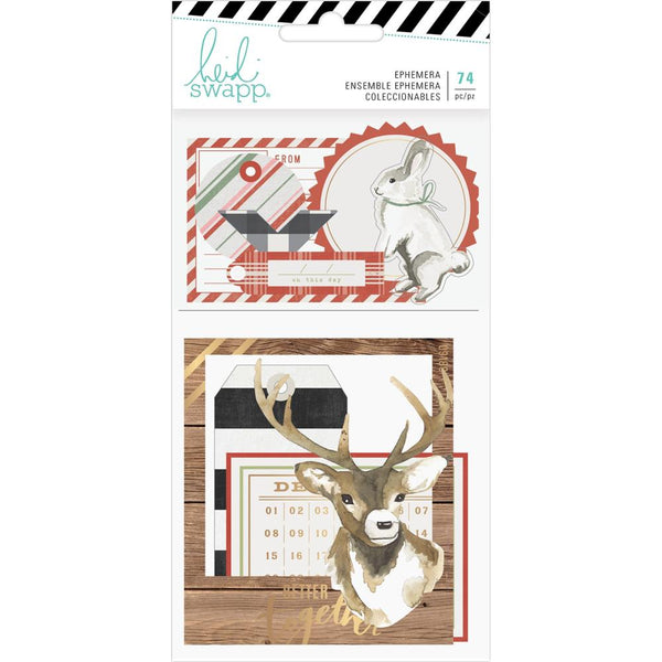 Heidi Swapp - Winter Wonderland - Ephemera Pack