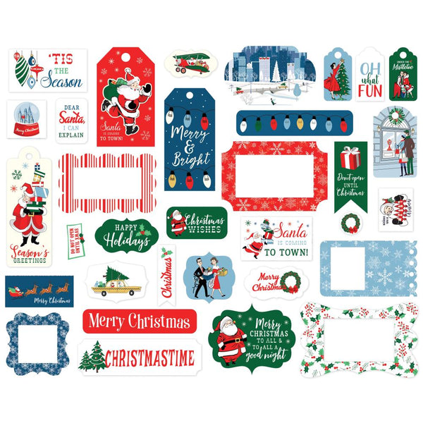 Carta Bella - Merry Christmas - Frames & Tags Pack
