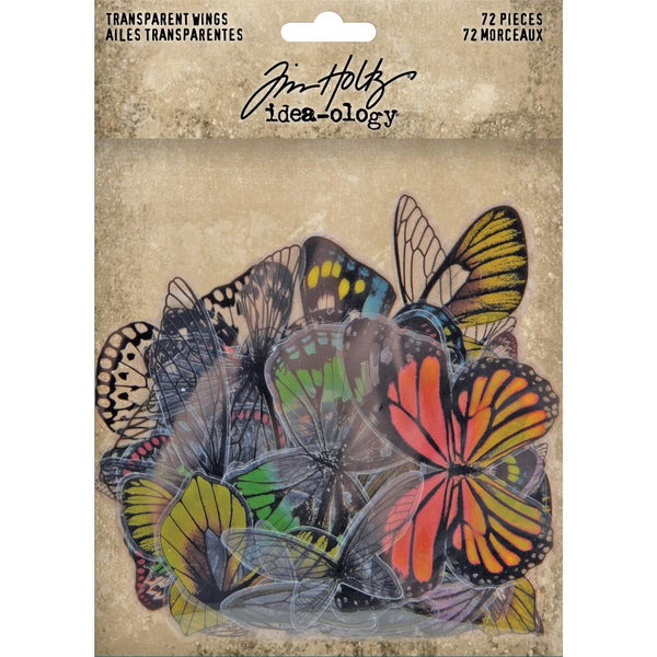 Tim Holtz - Idea-ology - Transparent Wings with Colour