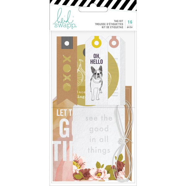 Heidi Swapp - Honey & Spice - Tag Kit