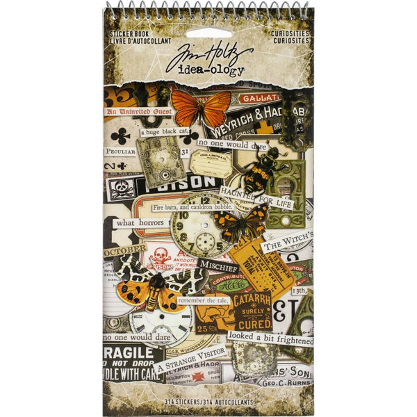 Tim Holtz - Idea-ology - Curiosities Sticker Book