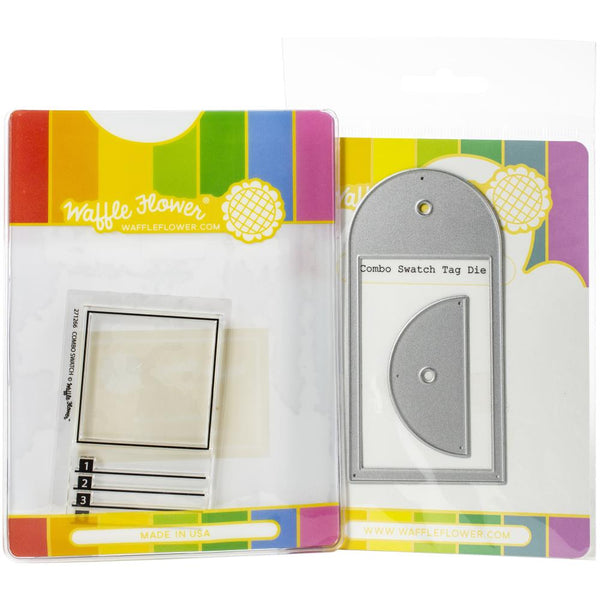 Waffle Flower - Combo Swatch Stamp & Die Bundle