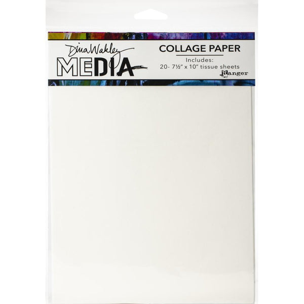 Dina Wakley Media - Collage Paper - Plain
