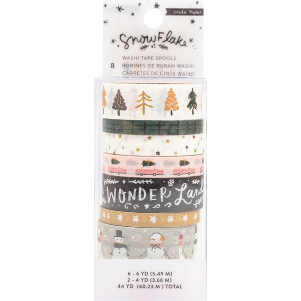 Crate Paper - Snowflake - Washi Tape Set