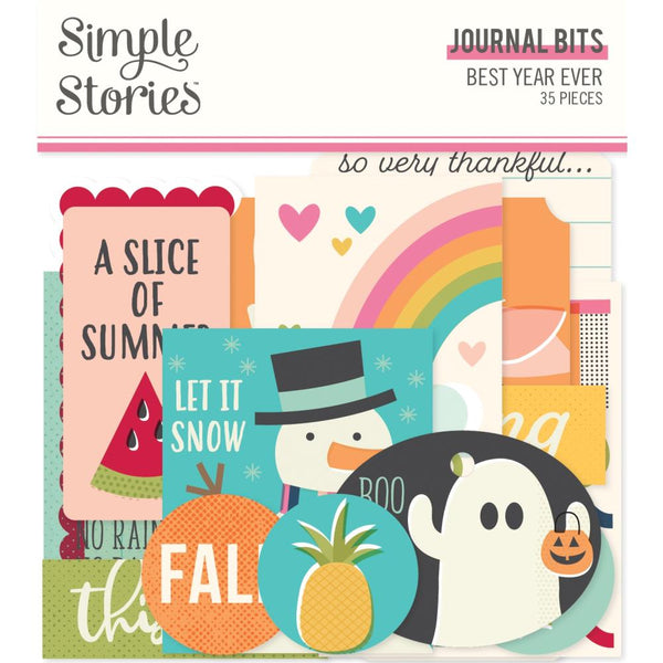 Simple Stories - Best Year Ever - Journal Bits