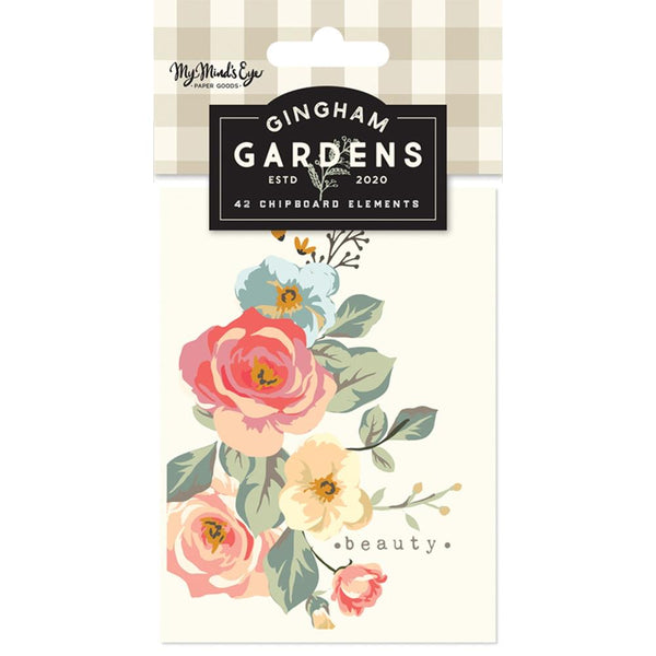 My Mind's Eye - Gingham Gardens - Journal Cards