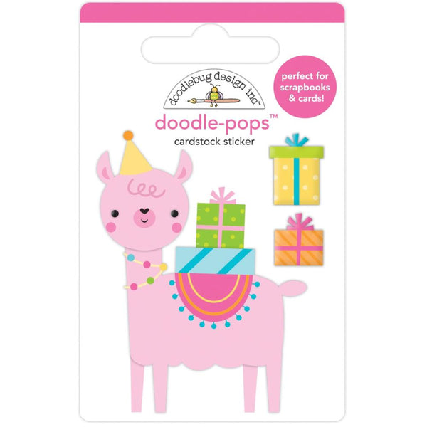 Doodlebug Design - Doodle-Pops - Party Llama