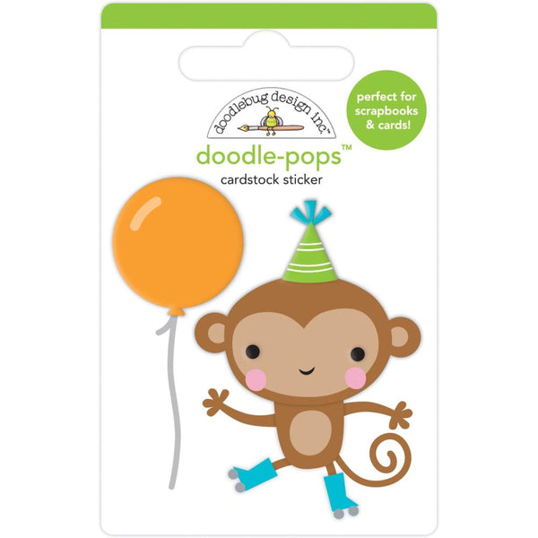 Doodlebug Design - Doodle-Pops - Monkey Business