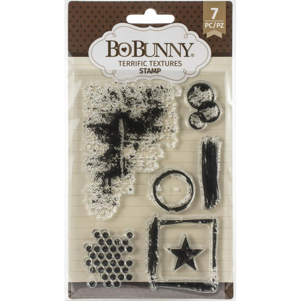 Bo Bunny - Terrific Textures stamp