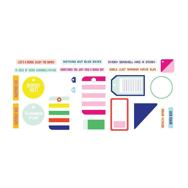Fancy Pants - Vitamin Sea - Tags & Labels Pack