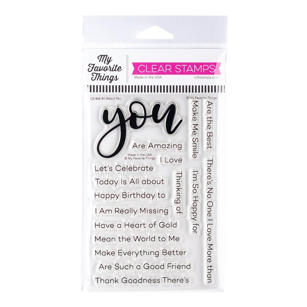 My Favorite Things -  All About You - Stamp Set