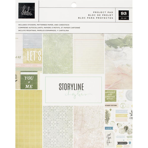 Heidi Swapp - Storyline Chapters - The Journaler Project Pad