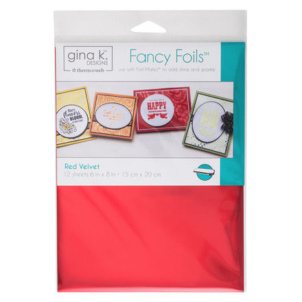 Therm-O-Web - Gina K. Designs - Fancy Foils - Red Velvet