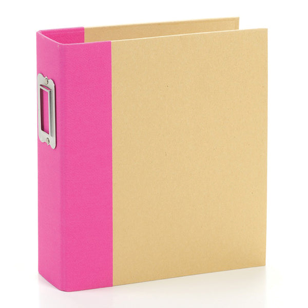 Simple Stories - 6 x 8 Snap Binder - Pink