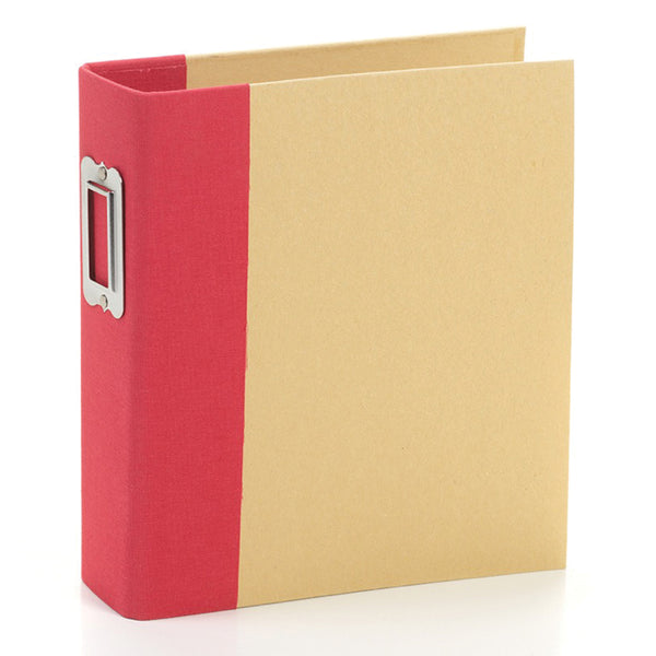 Simple Stories - 6 x 8 Snap Binder - Red