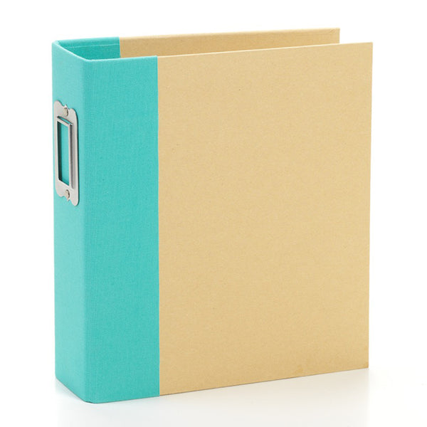 Simple Stories - 6 x 8 Snap Binder - Teal