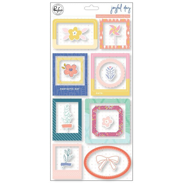 Pinkfresh Studio - Joyful Day - Chipboard Frames