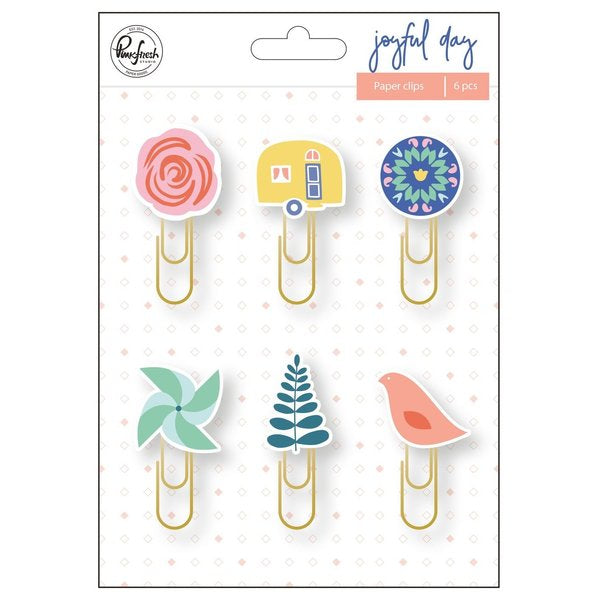 Pinkfresh Studio - Joyful Day - Paper clips