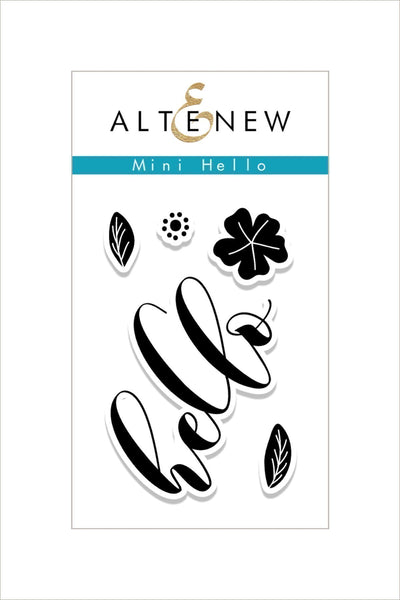 Altnew - Mini Hello Stampt Set