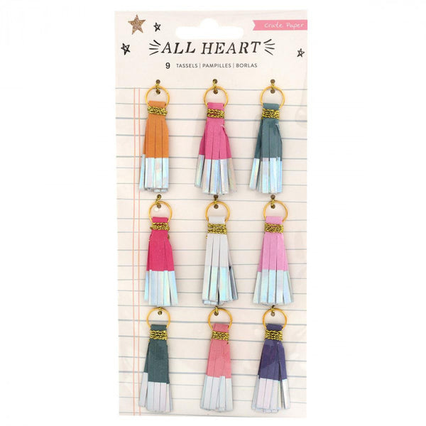 Crate Paper - All Heart - Tassels
