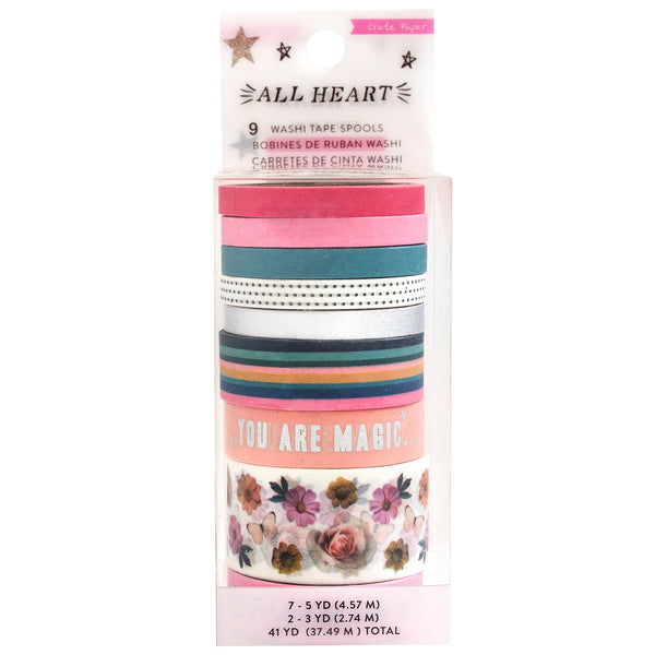Crate Paper - All Heart - Washi Tape