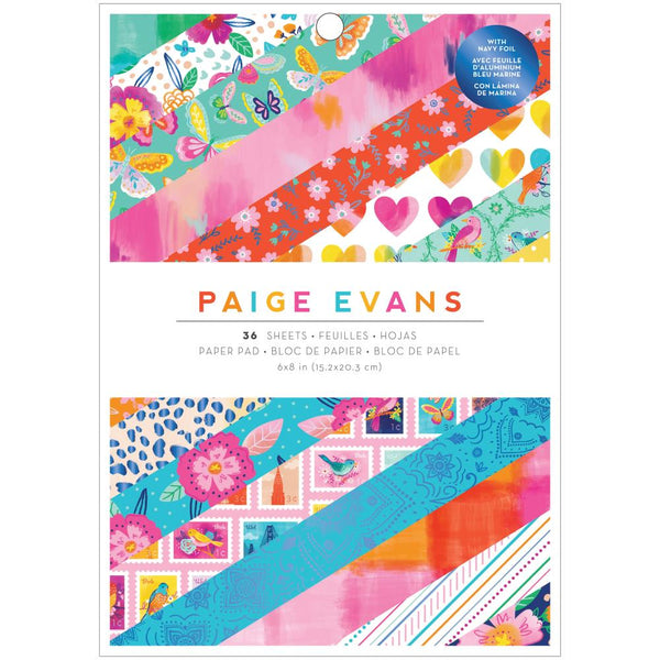 Paige Evans - Go the Scenic Route - 6 x 8 paper pad