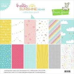 Lawn Fawn - Hello Sunshine Remix - 12 x 12 collection kit