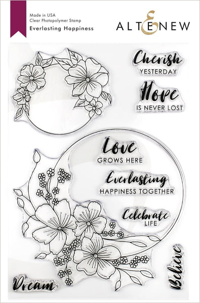 Altenew - Everlasting Happiness Stamp Set