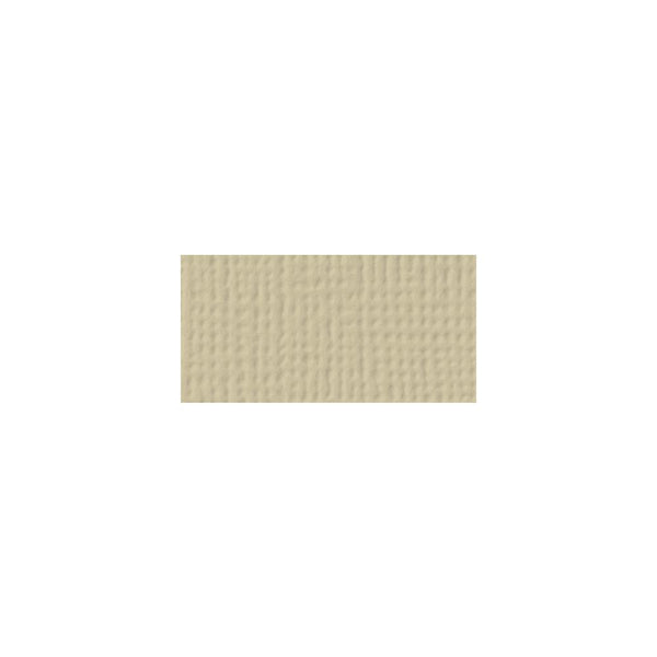 American Crafts - 12x12 Textured Cardstock - Sand
