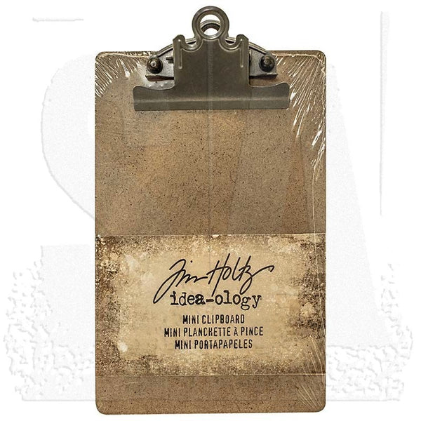Tim Holtz - Idea-ology - Mini Clipboard