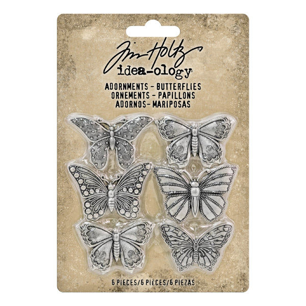 Tim Holtz - Idea-ology - Adronments - Butterflies
