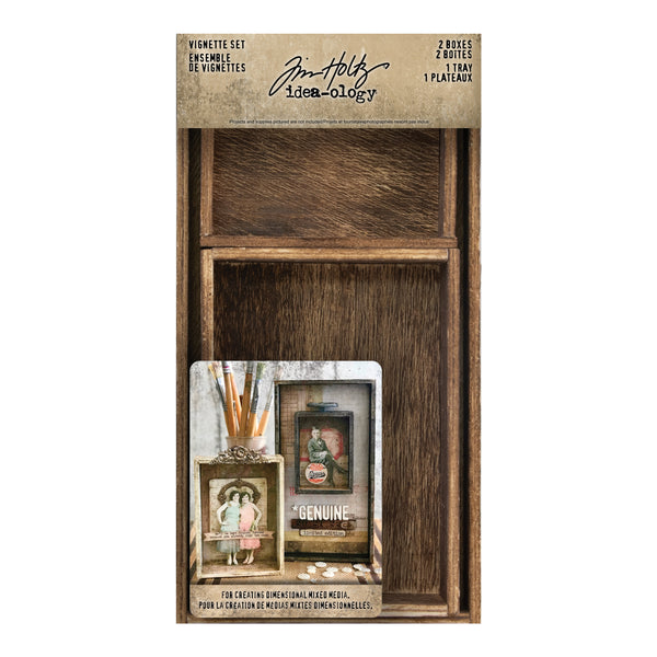 Tim Holtz - Idea-ology - Vignette Set
