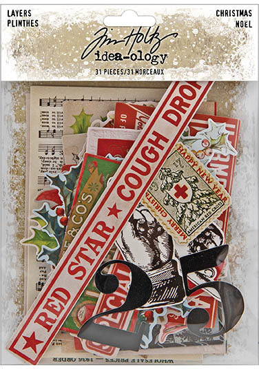 Tim Holtz - Idea-ology - Paper Layers Christmas 2020