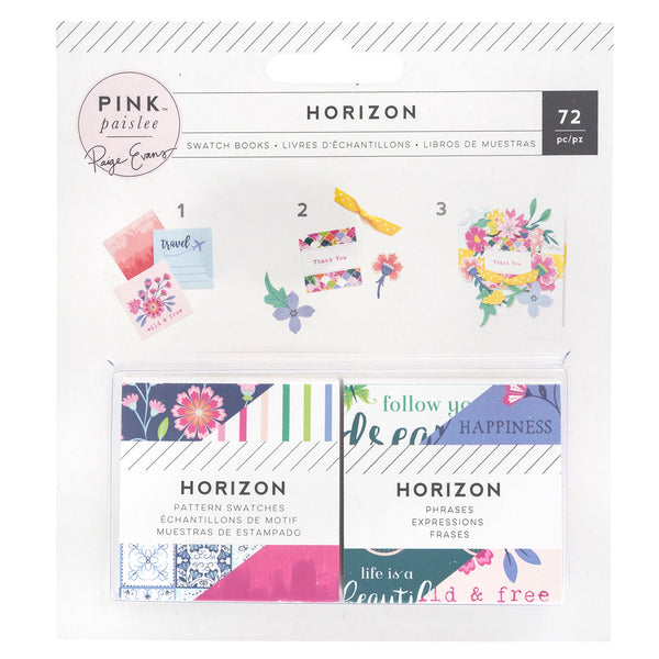 Pink Paislee - Horizon  -  Mini Swatch Book