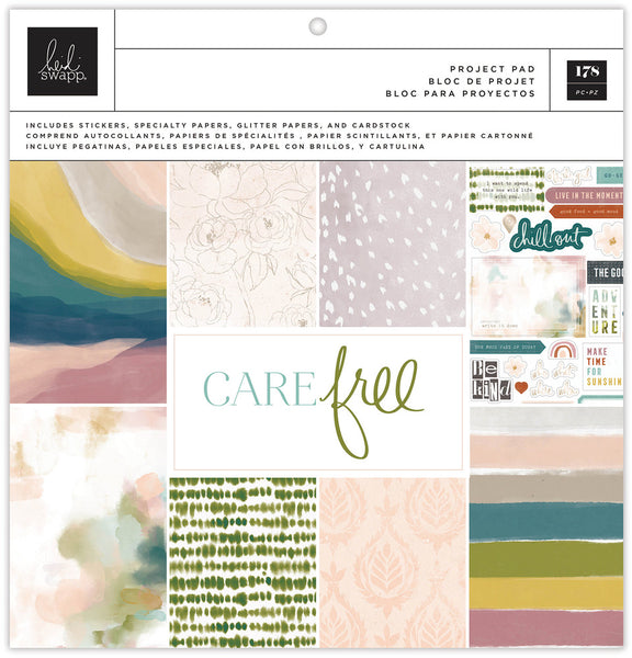 Heidi Swapp - Care Free - 12 x 12 Project Pad