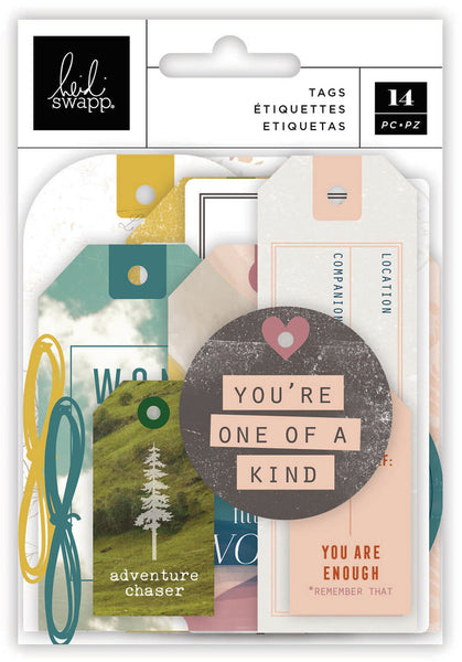 Heidi Swapp - Care Free - Tag Set