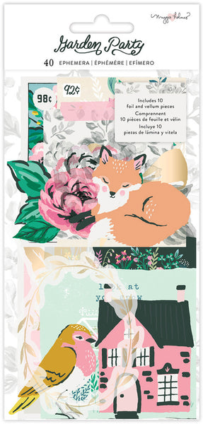 Maggie Holmes - Garden Party - Ephemera Pack